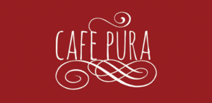 Logo for Cafe Pura created by interns from the Ohana Institute