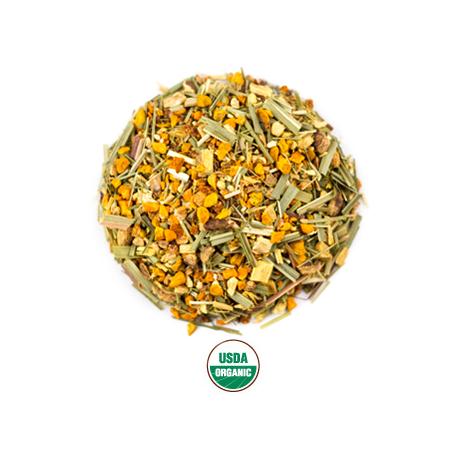 Orgnic Rishi Tea: Tumeric Tea Ginger Tea