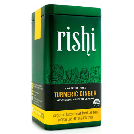 Orgnic Rishi Tea: Tumeric Tea Ginger Tea