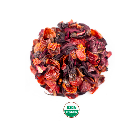 Hibiscus Tea From Rishi Organic Tea Amavida Coffee Roasters