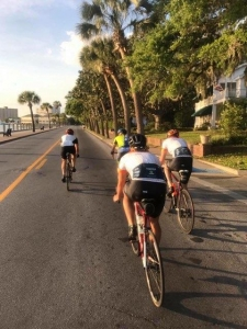 Local Cycling Team Takes Coffee Ride Along Scenic Route