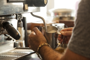 Local coffee roasters, brewing specialty coffee
