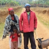 We helped support this Burundi coffee farming family through purchasing new goats!