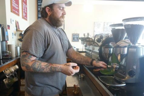 Custom Tamps, Espresso, and Barista Brandon