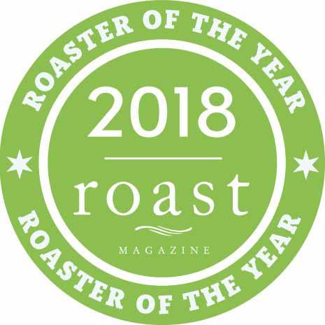 Amavida Coffee Named Roaster of the Year 2018 by Roast Magazine
