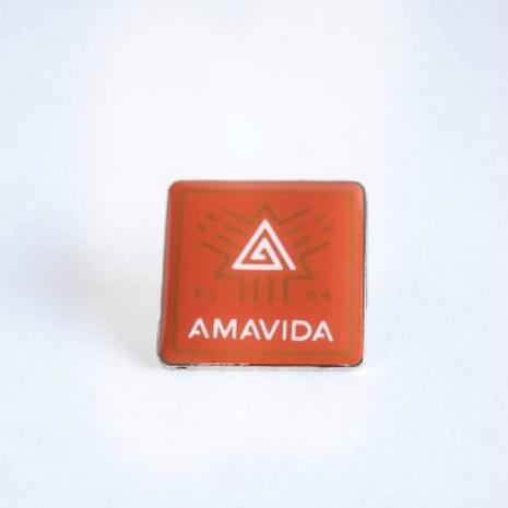 Coffee Pin, Custom Amavida lapel pins