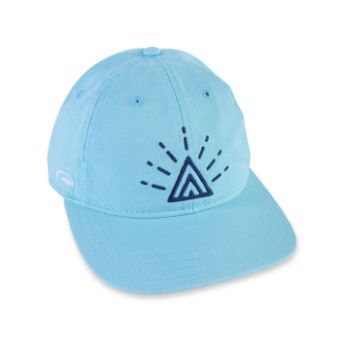 Dad Hat with Embroidered Radiant Symbol, by Amavida Coffee Roasters