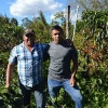 Father and son, Oscar Omar Alonz and Melvin Alonzo seen growing organic Honduran coffee