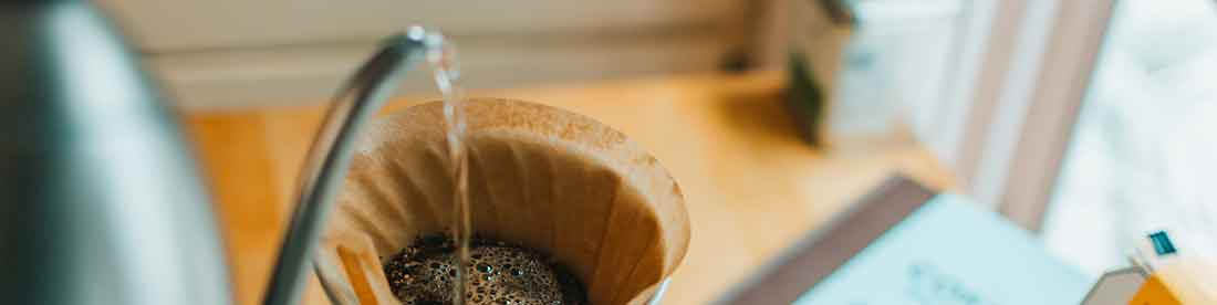 Make pour over coffee at barista training in Florida